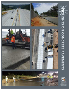 Download the Concrete Pavements Spotlight Booklet
